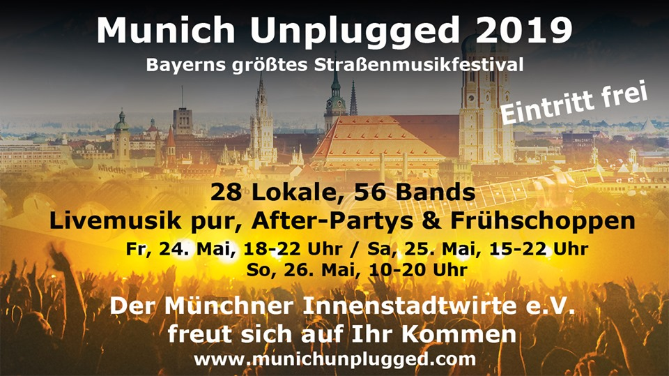 Munich Unplugged 2019 Banner